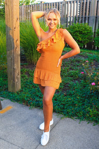 Orange Ya Glad Dress