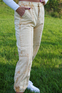 Pocket Full of Sunshine Denim Pants