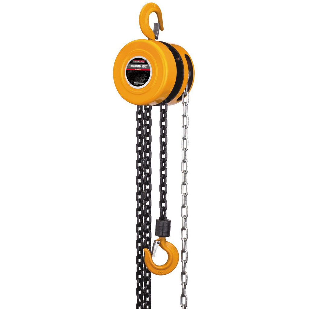 Chain Block (1 ton to 20' lift)