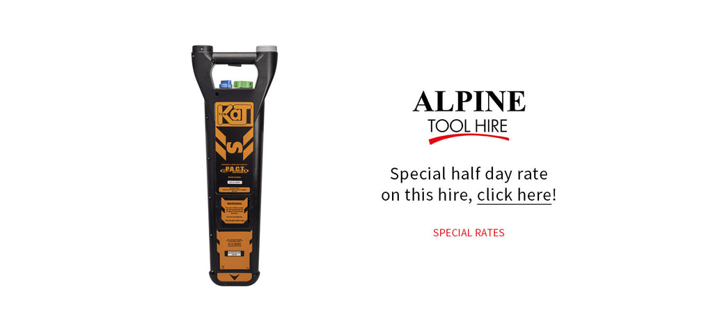 Cable Avoiding Tool - Half day rate - Alpine Tool Hire - Special Offer