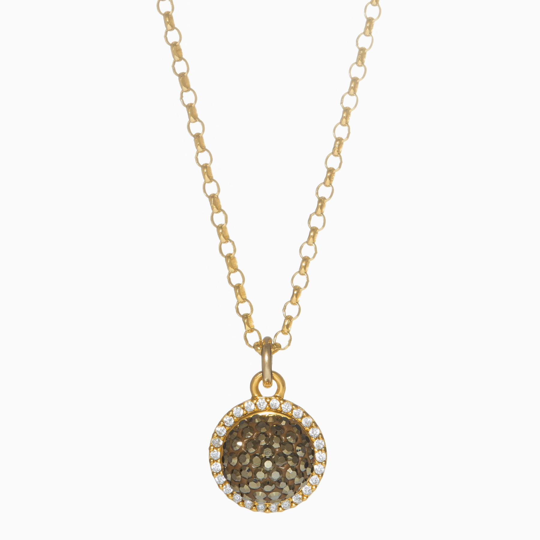 Sparkle Ball Halo Necklace