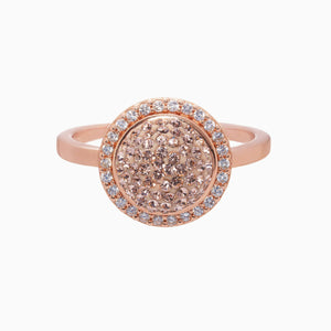 Sparkle Ball Halo Ring