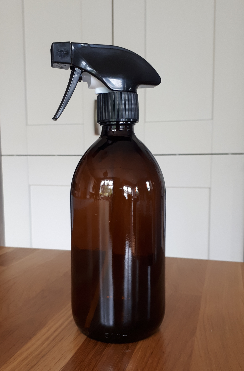 500ml Brown Glass Trigger Spray Bottle