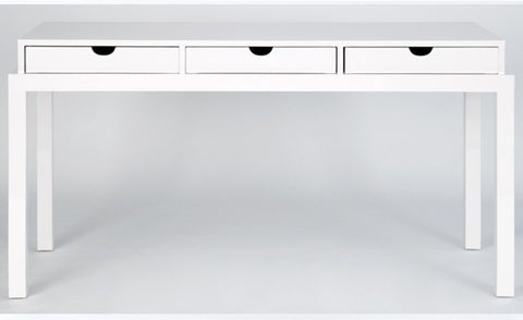 Halcón Colección Three Drawer Desk