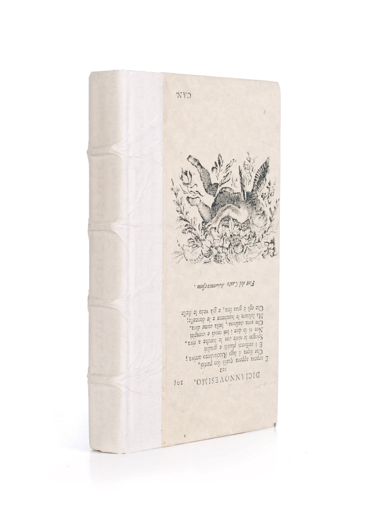 Antique Vellum White Designer Book