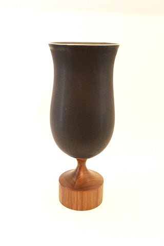 Miss Jean Vase in Edged Black
