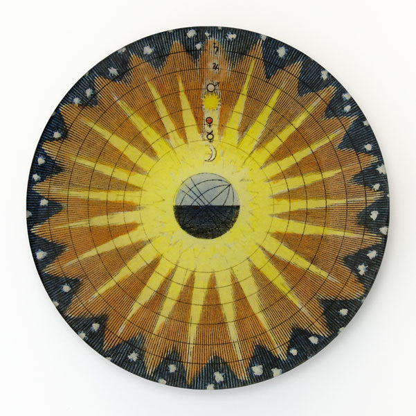 Round Plate, Gift Of Sun