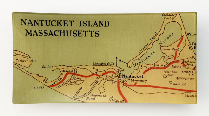 Rectangle Plate, Nantucket