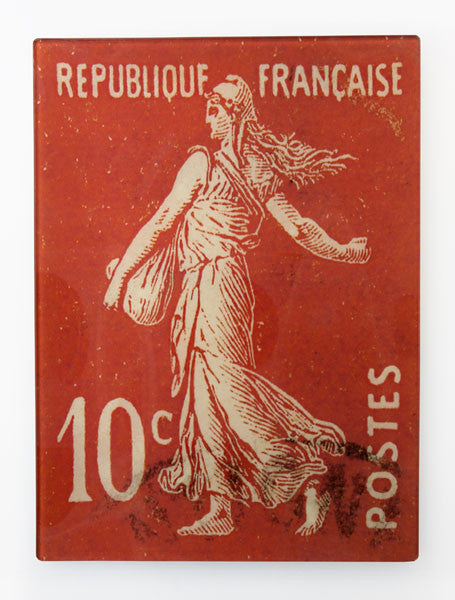 Rectangle Plate, French Republic