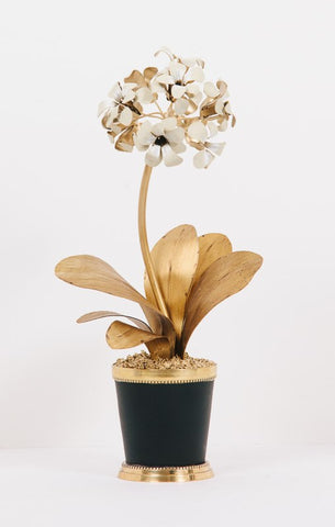 24k Gold Primula Flower
