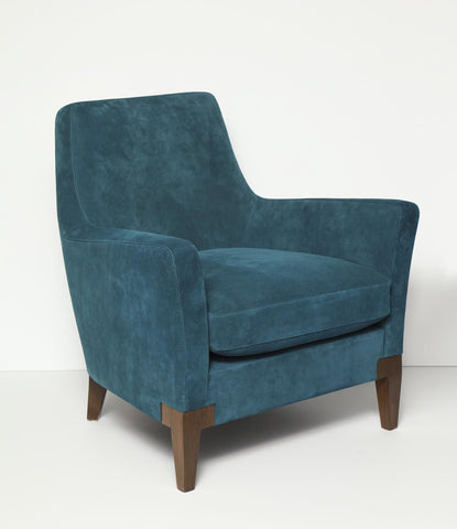 Tribeca Occasional Suede Side Chair