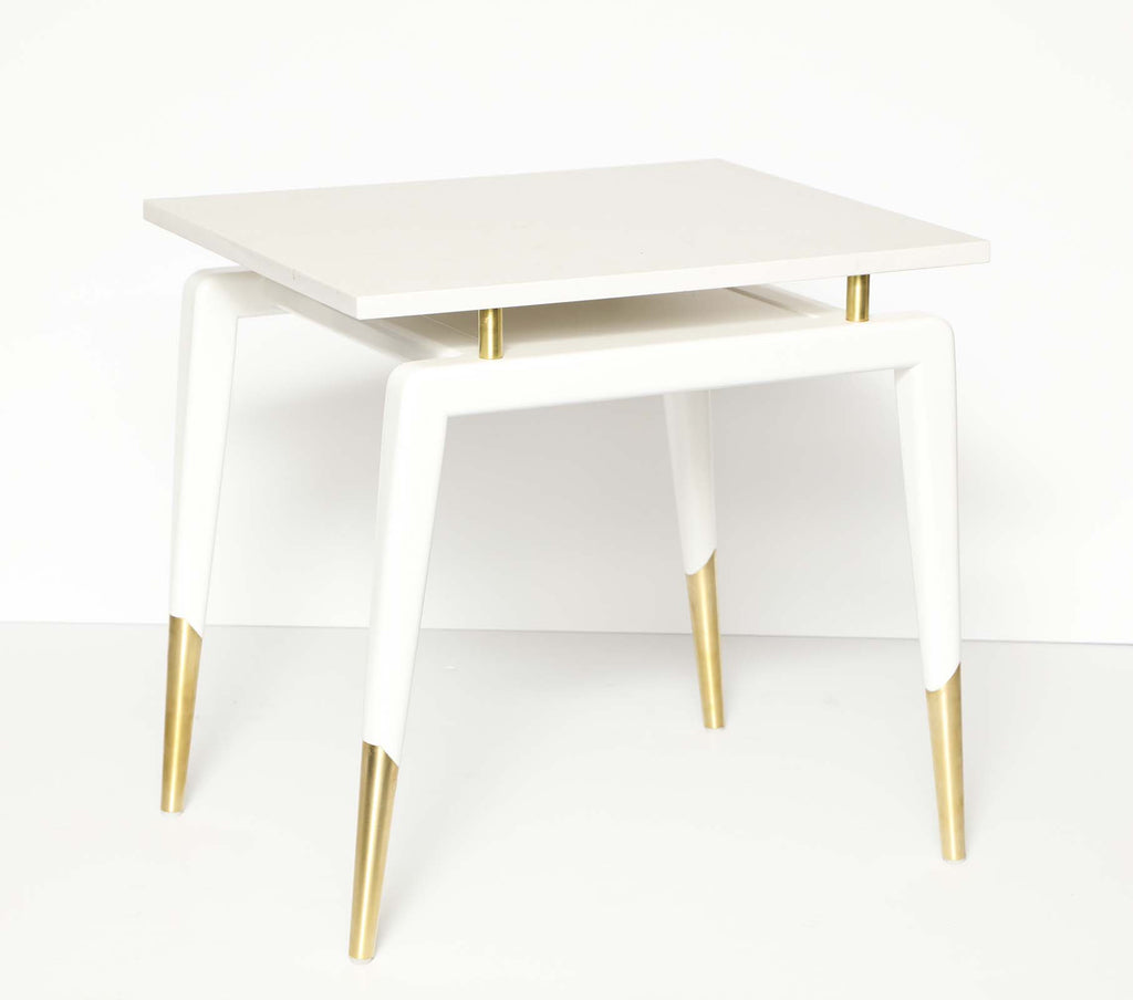 Tribeca Side Table White