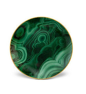 Malachite Canape Plate Set