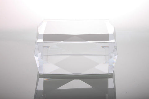 Asscher Diamond Box Clear