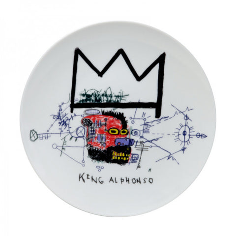 "Basquiat ""King Alphonso"""