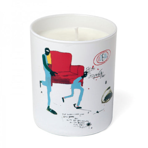 "Basquiat Candle, ""White"""