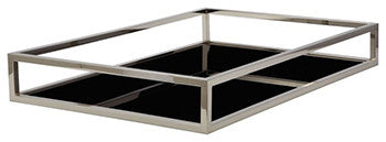 Rectangle Black Box Rod Tray
