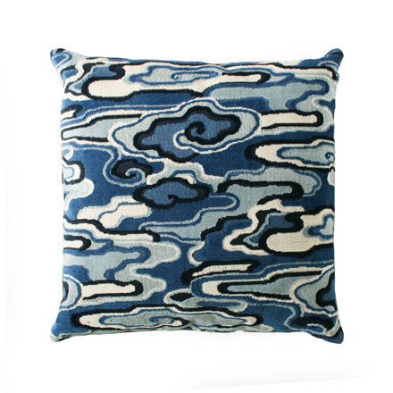 Alto China Blue Pillow