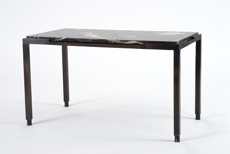 Bronze Coffee Table/Stone Top