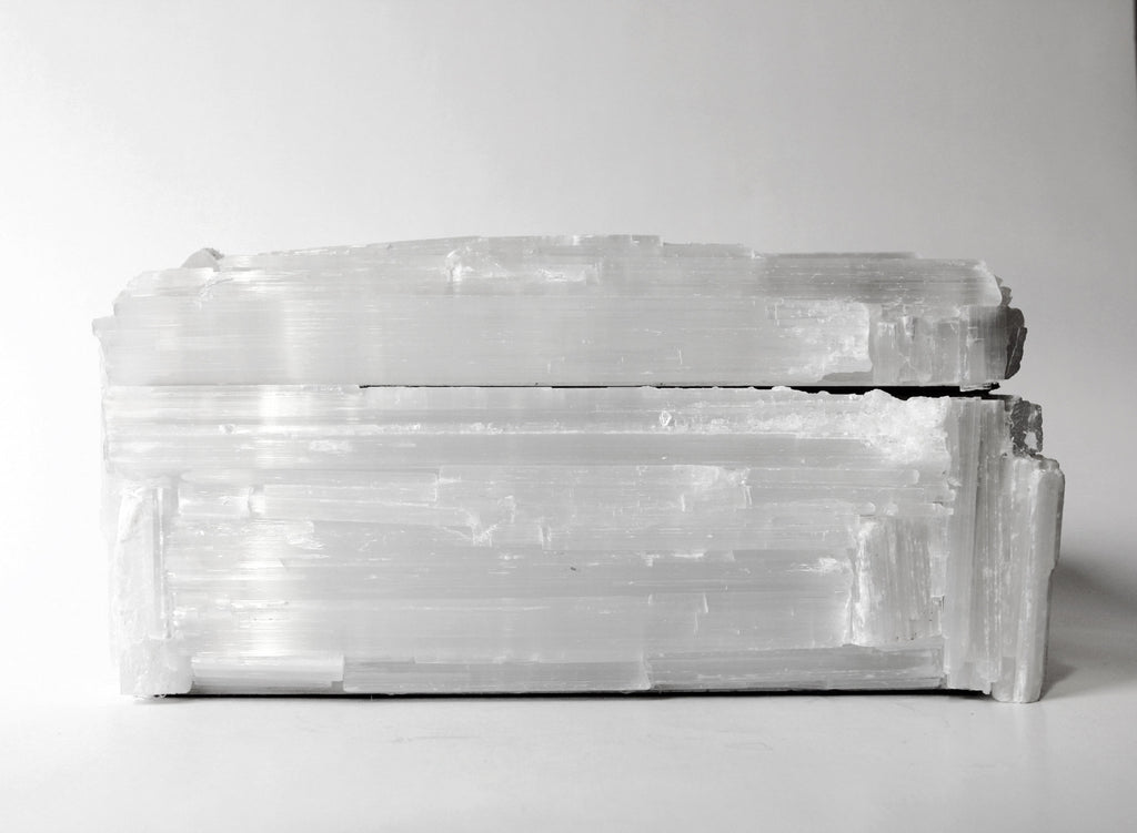"Selenite ""Kathy"" Box"