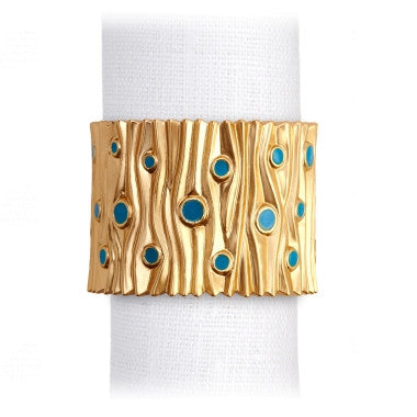 Napkin Ring Jewel Gold