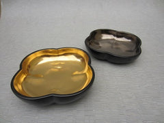 Richard Mishaan Large Bowl in Black and Gold