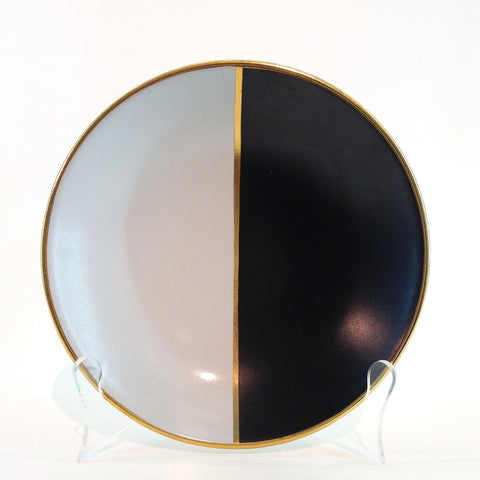 Richard Mishaan Duo Plate in Black and White