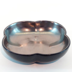 Richard Mishaan Large Bowl in Black and Platinum