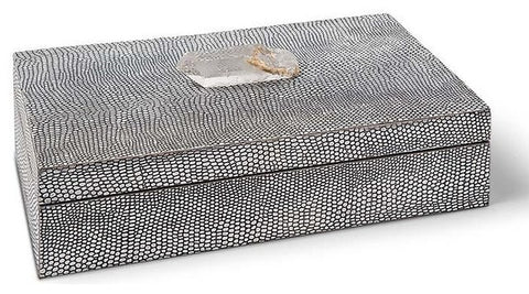 Large Python Box with Crystal