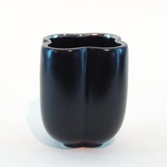 Richard Mishaan Small Bowl in Black and Platinum