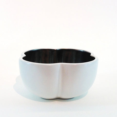 Richard Mishaan Medium Bowl in White and Platinum