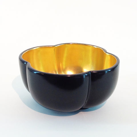 Richard Mishaan Medium Bowl in Black and Gold