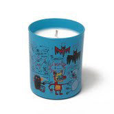 "Basquiat Candle, ""Blue"""