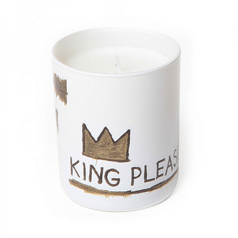 "Basquiat Candle, ""King Pleasure"""
