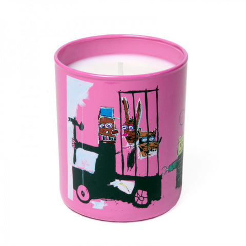 "Basquiat Candle, ""Pink"""