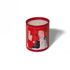 "Basquiat Candle, ""Red"""