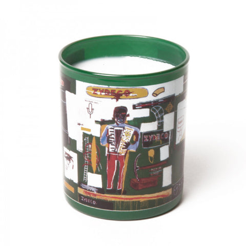 "Basquiat Candle, ""Green"""