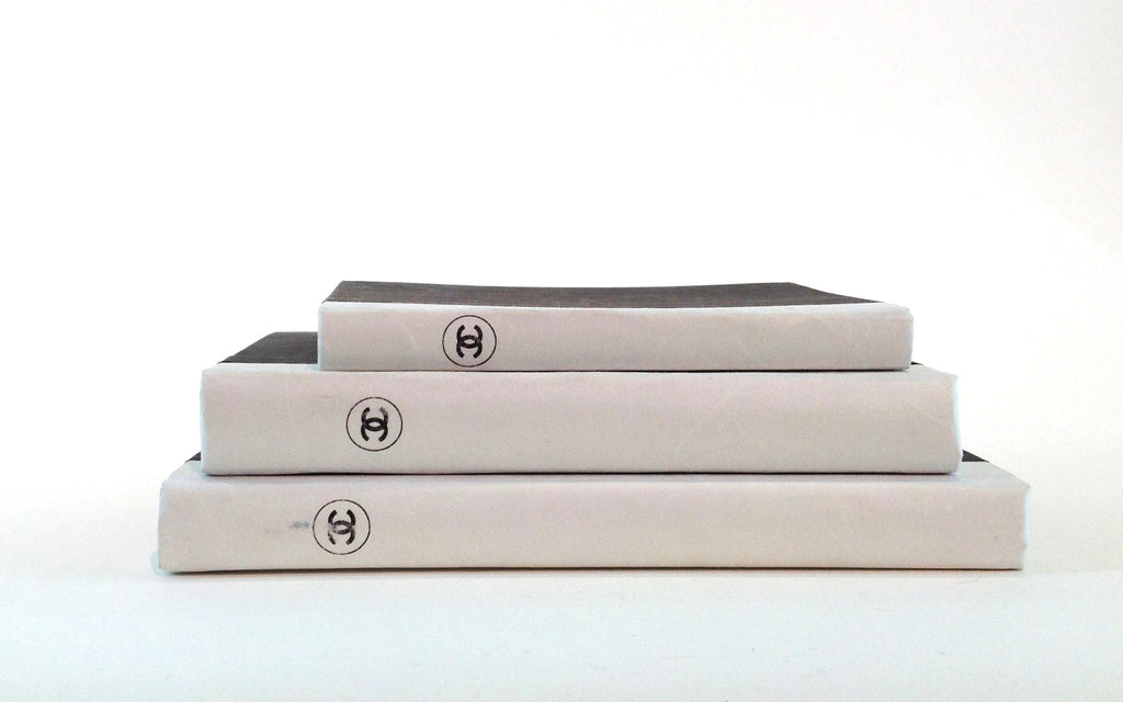 Chanel Stacking Book Set