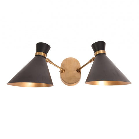 Double Peggy Wall Lamp