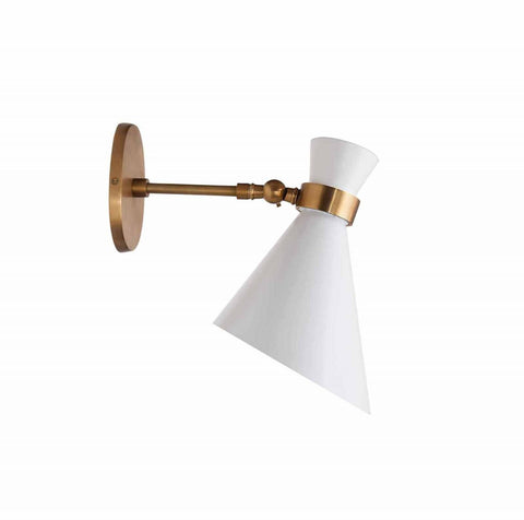 Single Peggy Wall Lamp with One Bulb