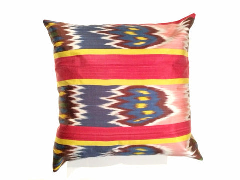 Stripe Ikat Pillow