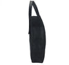 Curved Open Tote - Waxy Black with Black Hardware