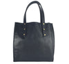 Curved Open Tote - Waxy Black - Admonish