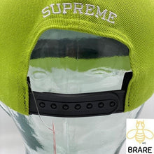 Load image into Gallery viewer, Supreme Fuck You 6 PANEL Lime Hat FW19