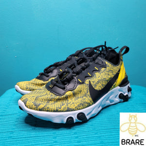 Nike React Element Yellow SnakeSkin Size 6 in Women's New without box