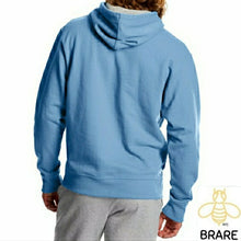 Load image into Gallery viewer, Champion Men's XL Light Blue Flag Hoodie
