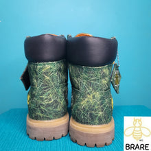 "Load image into Gallery viewer, TIMBERLAND X Bee Line Women's 6"" Grass Canvas Boot"