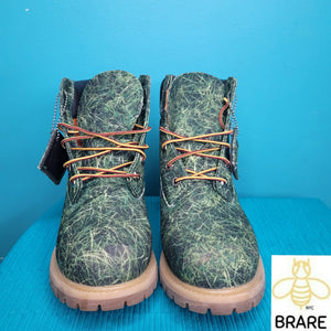 "TIMBERLAND X Bee Line Women's 6"" Grass Canvas Boot"