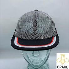 Load image into Gallery viewer, Supreme Silver Metallic Mesh 6 Panel Cap Snapback Hat SS17