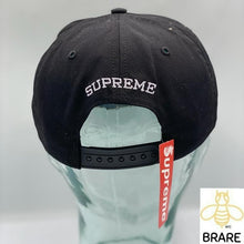 Load image into Gallery viewer, Supreme Dead Presidents 6 Panel Black Hat FW18